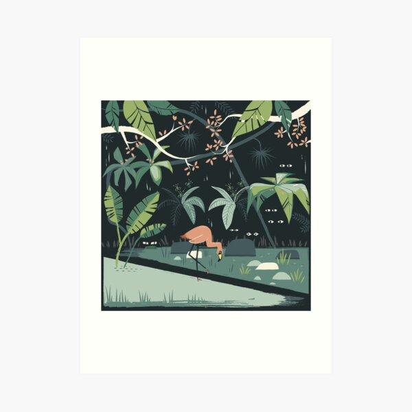 Nightshade Jungle Art Print