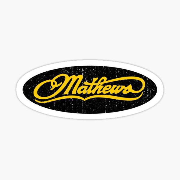 Mathews Archery Merchandise Shirt Sticker