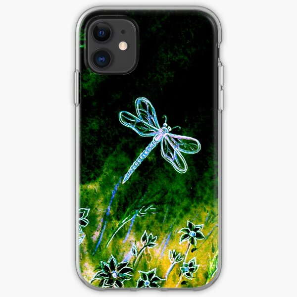 Angel Dragonfly  iPhone Soft Case