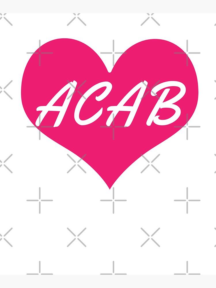 acab heart by craftordiy