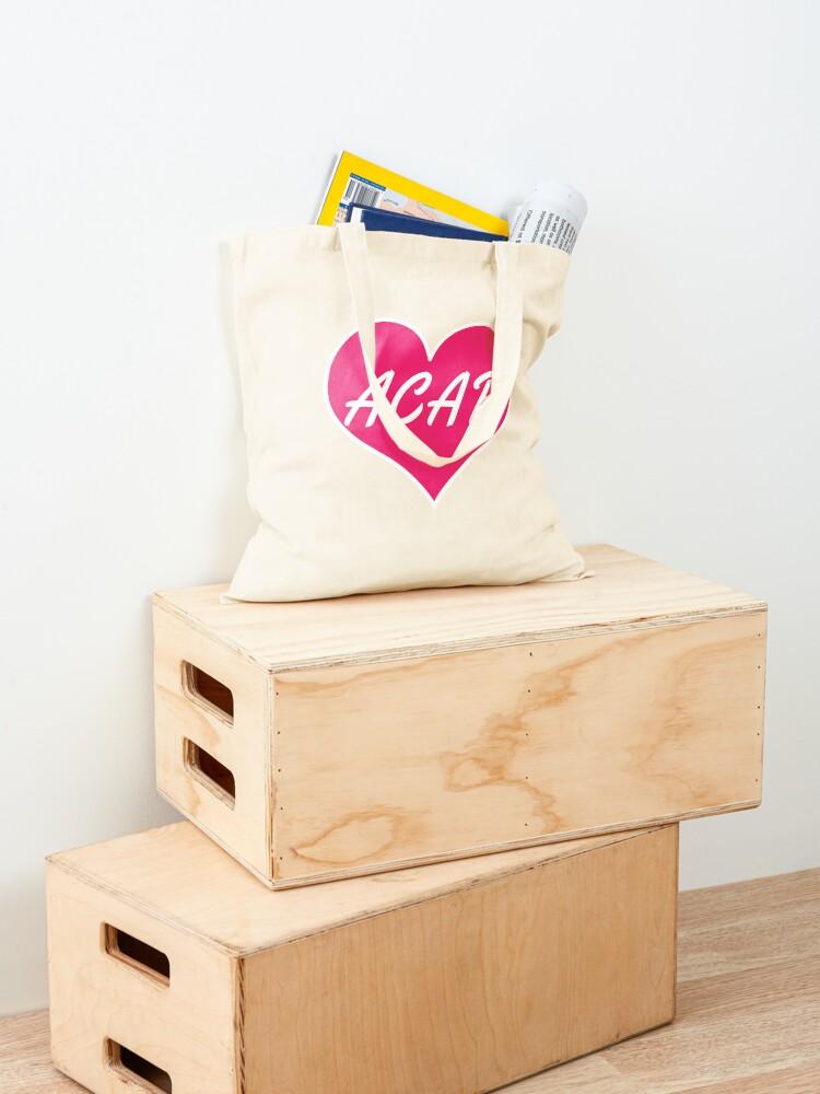 Alternate view of acab heart Tote Bag
