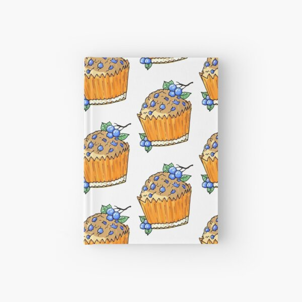 Blueberry Muffin Hardcover Journal