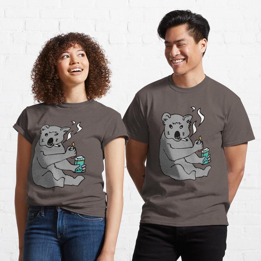 koala smoking a cigarette Classic T-Shirt