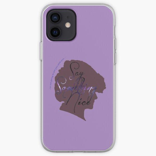 Something Nice iPhone Soft Case