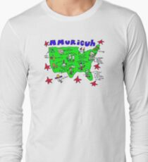 Amuricuh New color T Long Sleeve T-Shirt