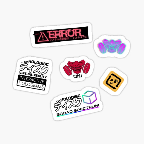 Cyberpunk Sticker Pack Sticker