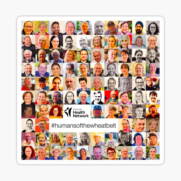 Humans of the Wheatbelt v4.1 Sticker