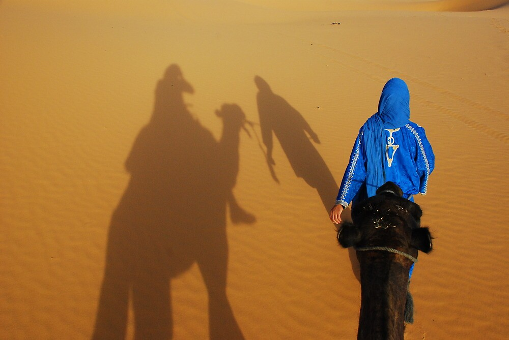 Merzouga Dunes and Guide to Oasis by travelninja