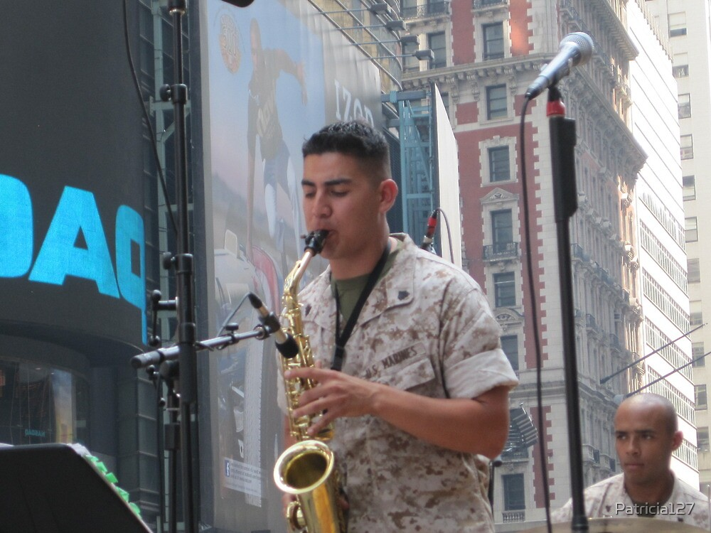 Saxiphonist  for the Marine Band Jazz Combo by Patricia127