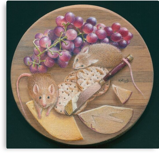 A Platter for Two by Karen  Hull