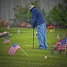 Veteran Blue by Robert C Richmond