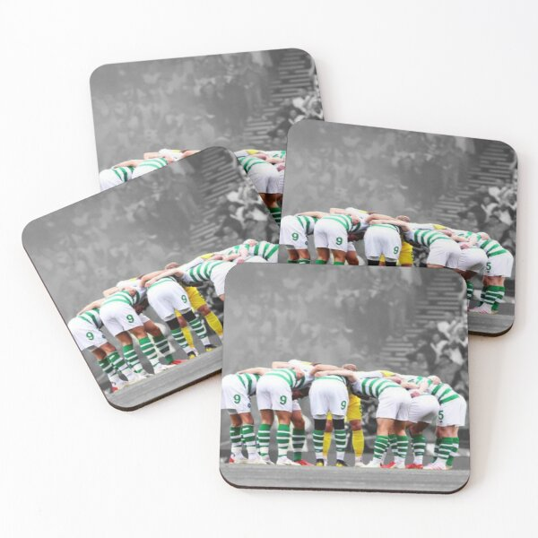 Celtic fc huddle Coasters (Set of 4)