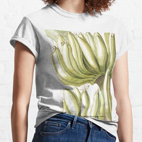 Botanical Musa Print Classic T-Shirt