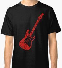Red Dire Straits Guitar Classic T-Shirt