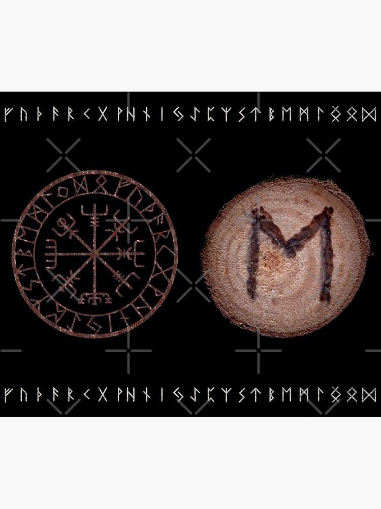 Ehwaz - Elder Futhark rune by NatureSight