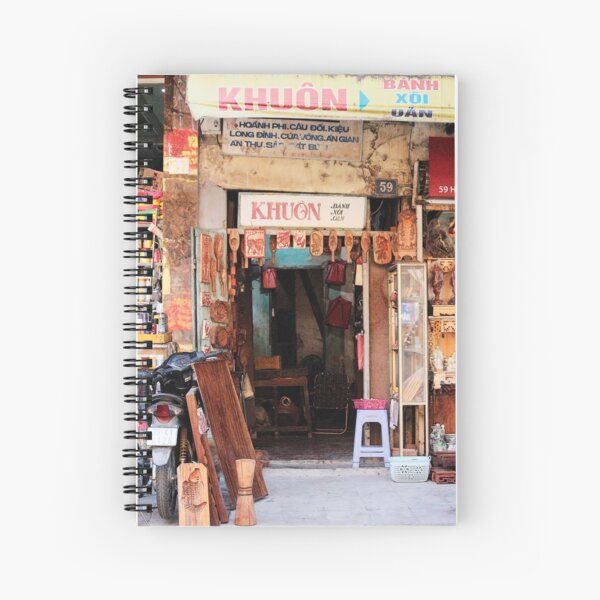 Doorway Khuon No 59  Spiral Notebook