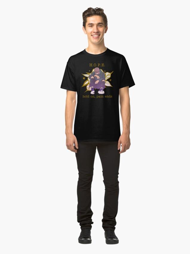 Vista alternativa de Camiseta clásica H.O.P.E.