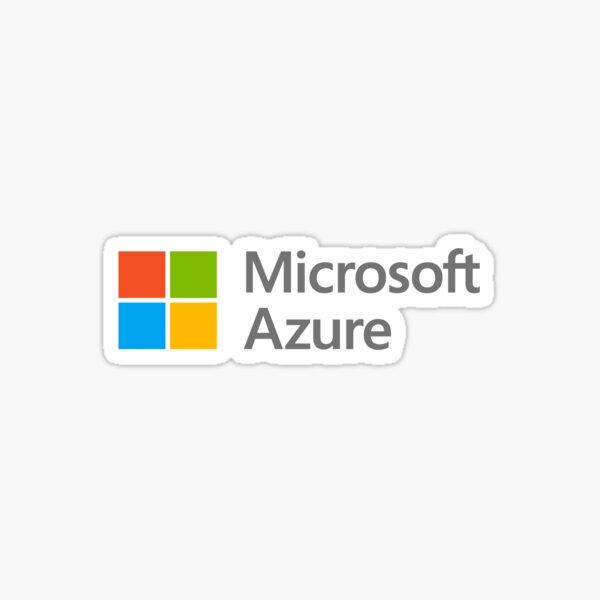 Microsoft Azure Pegatina