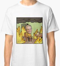 """Scott Morrison """"This Is Fine"""" Meme  Classic T-Shirt"""