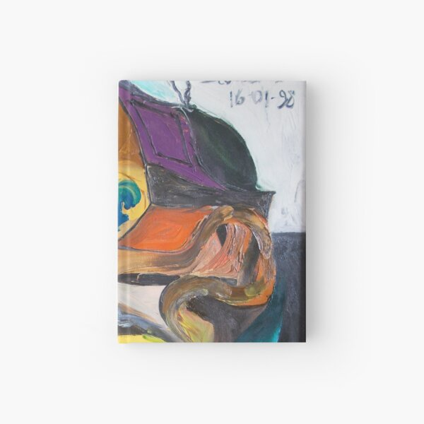 Futuristic Living Room Hardcover Journal