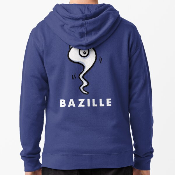 Bacillus - be contagious! Zipped Hoodie