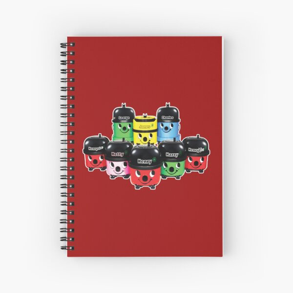 Henry Hoover and Friends Spiral Notebook