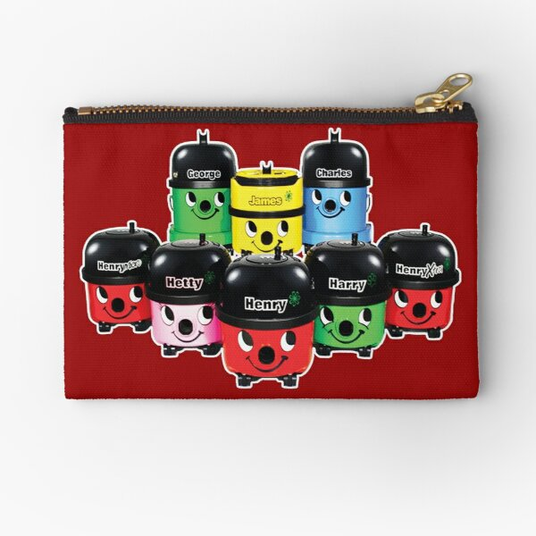 Henry Hoover and Friends Zipper Pouch