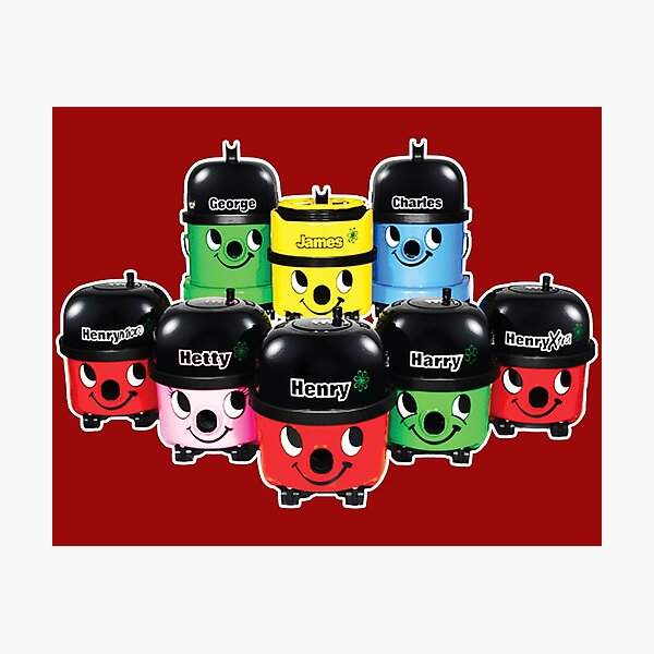 Henry Hoover and Friends Photographic Print