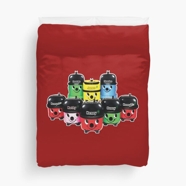 Henry Hoover and Friends Duvet Cover