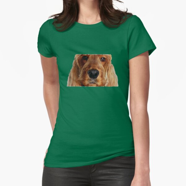 Portrait Fitted T-Shirt