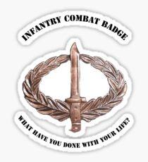 Infantry Combat Badge Sticker