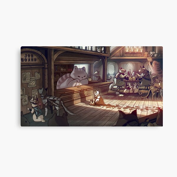 Adventurer's Guild Canvas Print