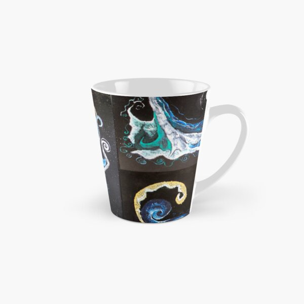 Down the Abyss Abstract Tall Mug