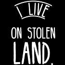 I live on stolen land by Beautifultd