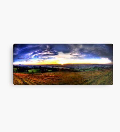 Zugerberg Sunset HDR Panorama Metal Print