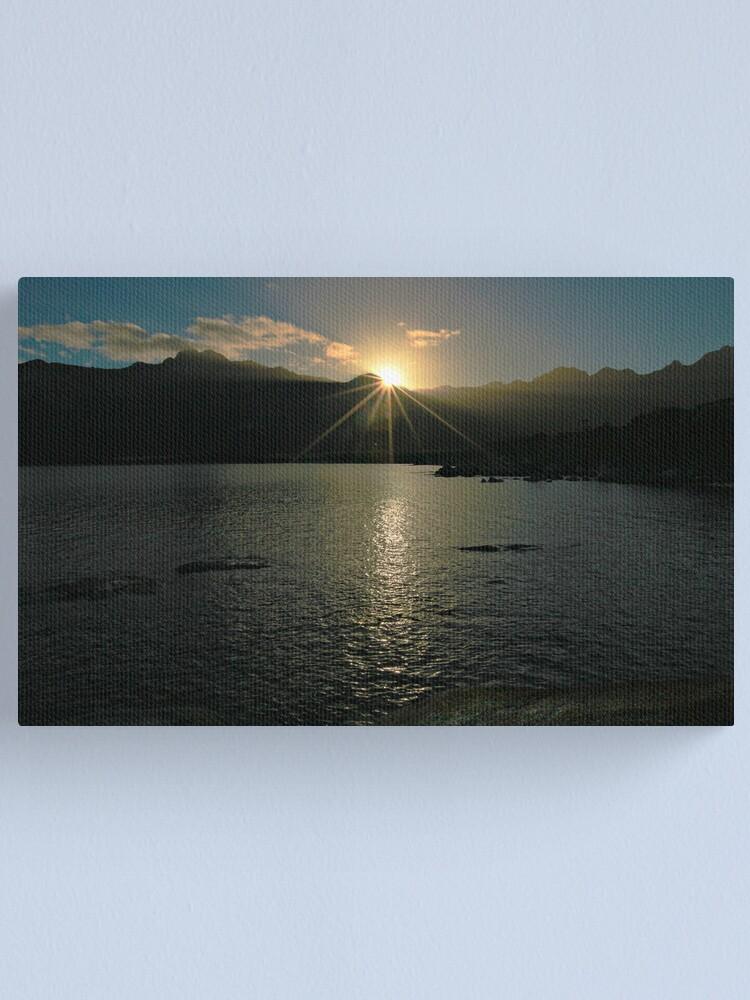Alternate view of Sunrise - Flinders Island, Tasmania Canvas Print