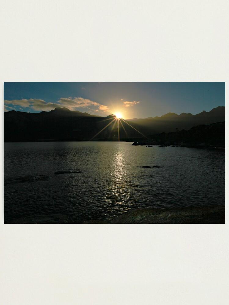 Alternate view of Sunrise - Flinders Island, Tasmania Photographic Print