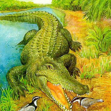 Crocodile by bermanatalie
