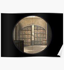 CSGO Dust 2 - Mid Doors Poster