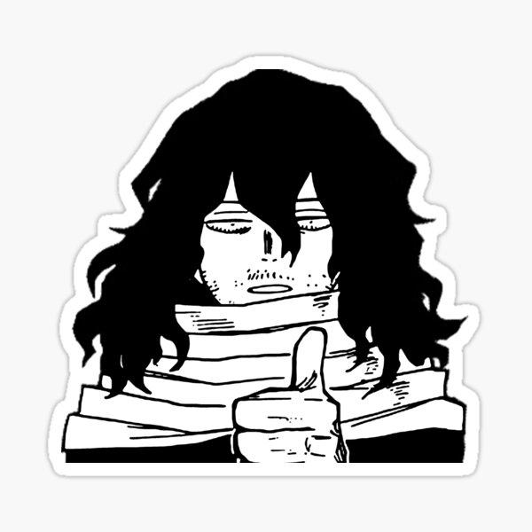 Aizawa donne un coup de pouce Sticker