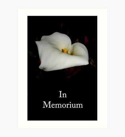memorial & rememberance Art Print