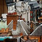 London Roof Tops by phil decocco