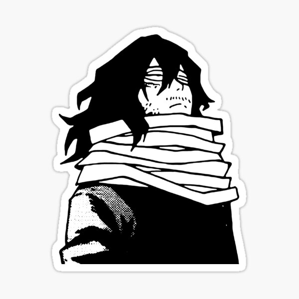 Aizawa looking Sticker