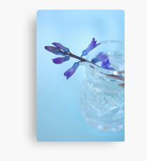 Flowers in a Glass  Canvas Print