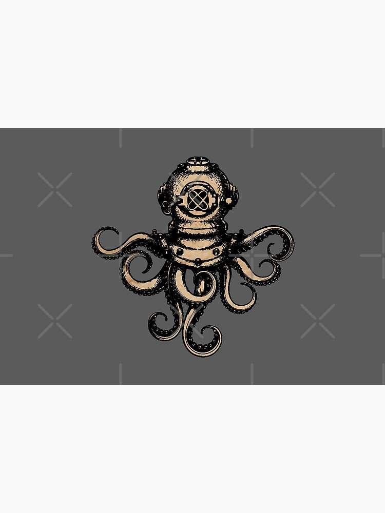 Steampunk Octopus by FantasySkyArt