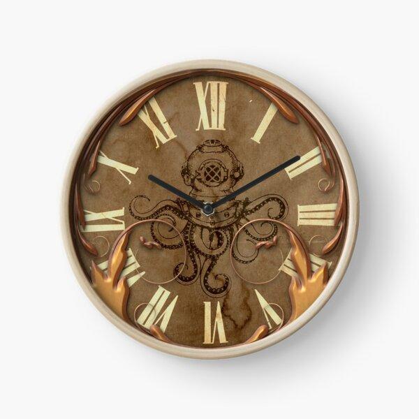 Steampunk Octopus Clock