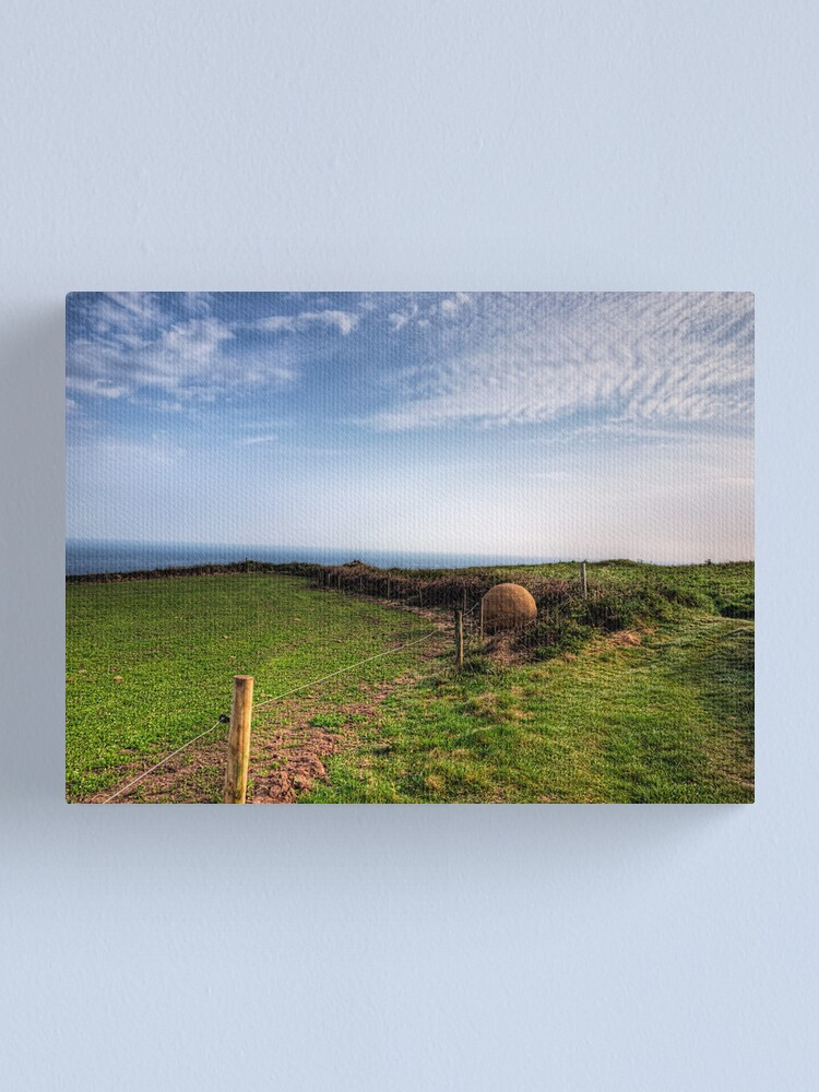"""Alternate view of An """"Alderney Stone"""" - Andy Goldsworthy Canvas Print"""