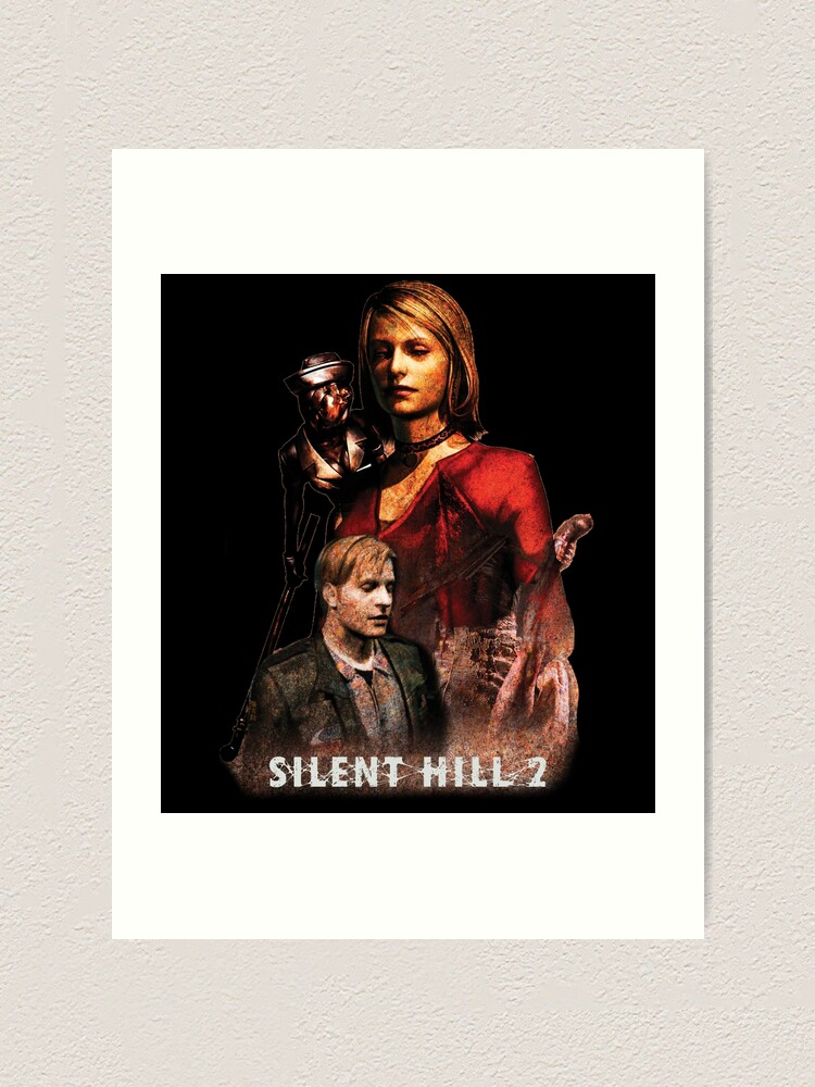 Silent Hill 2 Classic Maria Art Print By Mr Jerichotv Redbubble