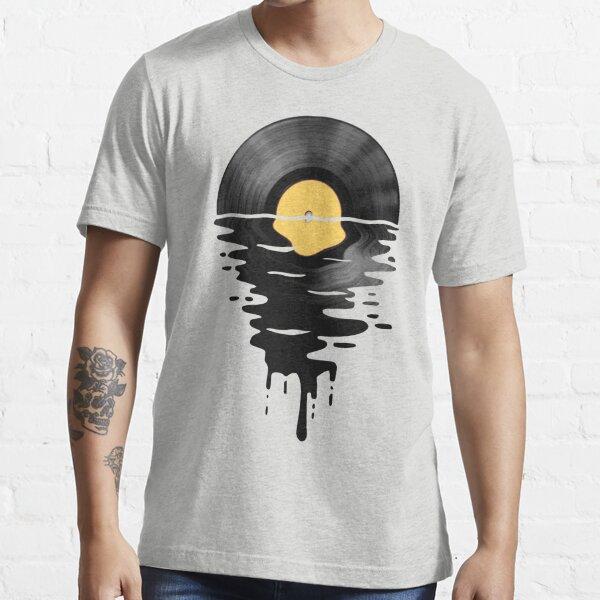 Vinyl LP Music Record Sunset  Yellow Essential T-Shirt
