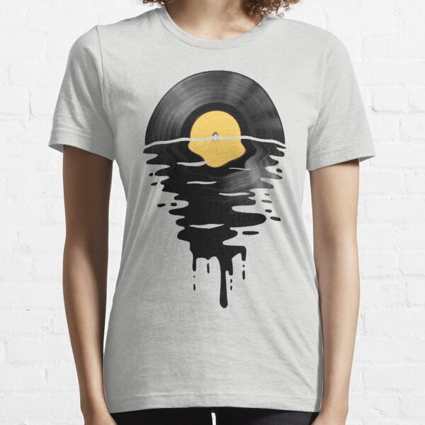Vinyl LP Music Record Sunset  Yellow Essential T-Shirt
